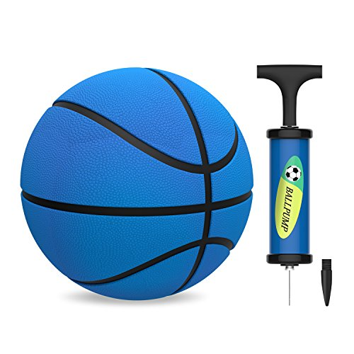 Kids Mini Basketball, HUNFS Toddler Replacement Basketball for Little Basketball Hoop - Soft and Durable - Indoor Outdoor Playing Cute Baby Toy Ball (5.5inch Diameter)