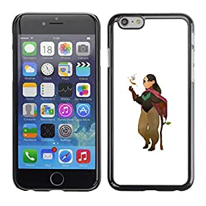 Be-Star Único Patrón Plástico Duro Fundas Cover Cubre Hard Case Cover Para Apple (5.5 inches!!!) iPhone 6 Plus( Cartoon Character Girl Nature Tree Love )