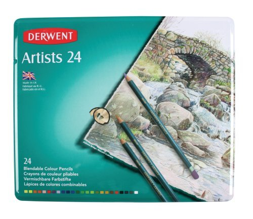 70 opinioni per Derwent Artists Matite Colorate in Scatola di Metallo (Confezione da 24)