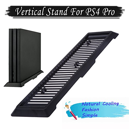 Price comparison product image Diamondo Vertical Stand Dock Mount Holder for PS4 Pro Game Console