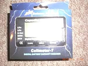 RCECHO® RC CellMeter-7 Digital Battery Capacity Checker LiPo LiFe Li-ion NiMH Nicd BK201 con RCECHO® Full Version Edition Aplicaciones