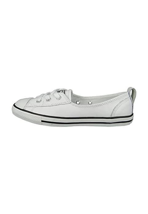 fe78b3dd21d5 Converse Chucks All Star Dainty Ballerina 549617C Ballet Lace White Black  White