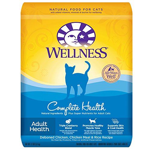 Wellness Complete Health Natural Dry Cat Food, Chicken & Ric