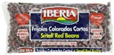 Iberia Small Red Beans / Frijoles Colorados Cortos, 12 oz  Dry  (Pack of 24)