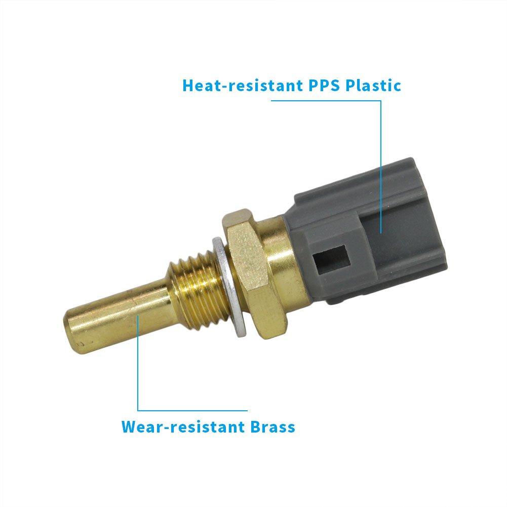 Engine Coolant Temperature Sensor Fit 13627535068 For Bmw 325 318i Mini Cooper 325e 325es 325i 325is 325ix 528e M3