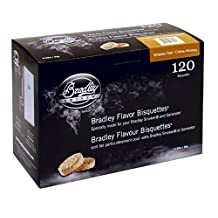 Bradley Technologies Whiskey Oak Special Edition Bisquettes (Pack of 120)