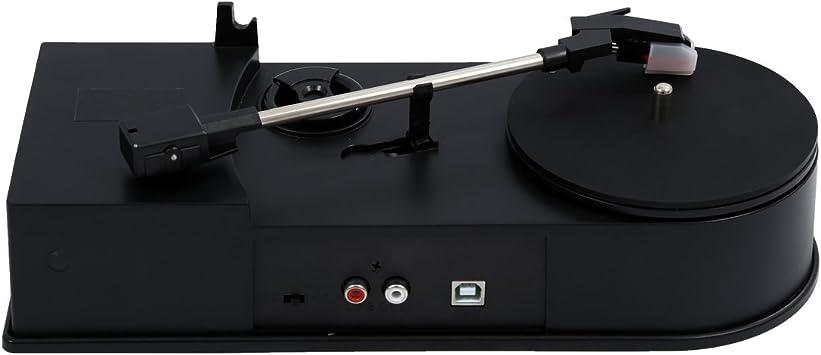 TOOGOO(R) mini USB Giradiscos Vinilo LP a MP3 grabadora USB ...