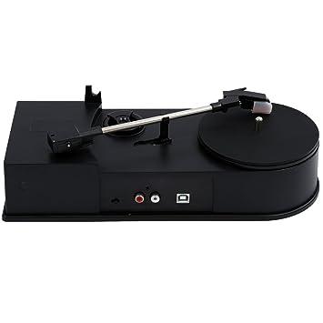 SODIAL(R) mini USB Giradiscos Vinilo LP a MP3 grabadora USB ...