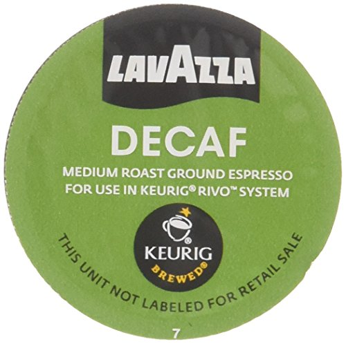 (Lavazza Espresso Decaf for Keurig Rivo System)
