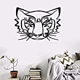 Wall Stickers Quotes Vinyl Art Room Mural Posters Animals Tiger The King of Jungle Stickers for Nursery Kid Room