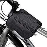 ArcEnCiel Bike Bag Front Bicycle Handlebar Bag Pannier Basket