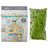 Hallmark Easter Basket Bag with Artificial Grass Fill (Multicolored, Happy Easter)