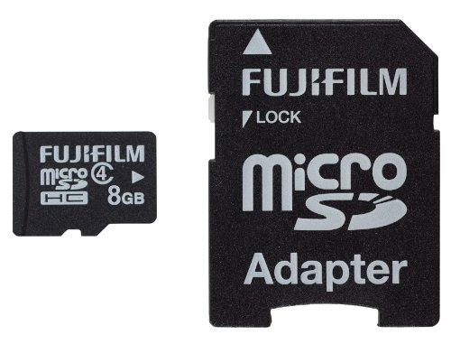 Fujifilm 8 GB C4 MicroSDHC Card with Adaptor