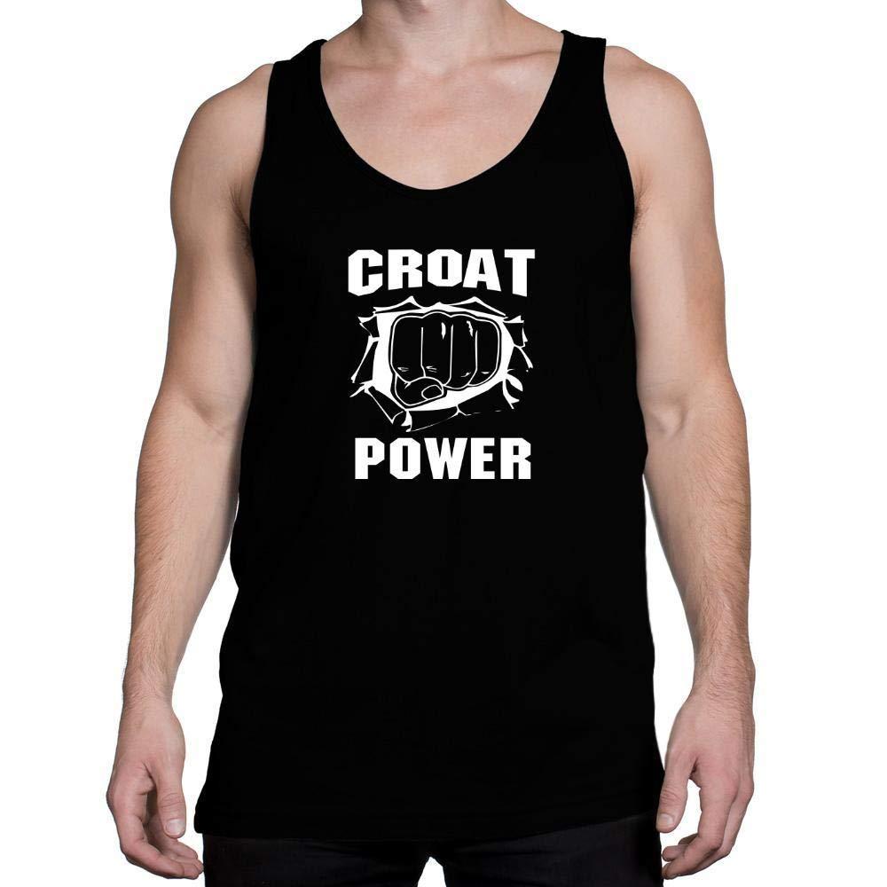 Idakoos Croat Power Tank Top