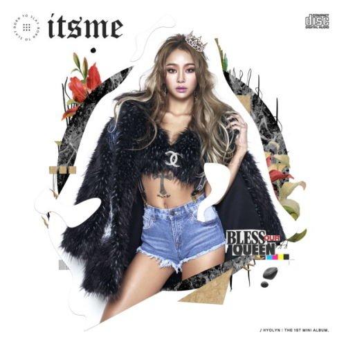SISTAR HYOLYN [IT'S ME] 1st Mini Album CD+Photobook+Tracking Number K-POP SEALED