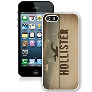 Great Quality iPhone 5 5S Case ,Beautiful And Unique Designed Case With Hollister 10 White iPhone 5 5S Cover Phone Case