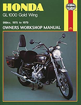 Haynes Manuals N/Amanual Hon Gl1000/Gldwng 75 80 M309 New