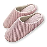 HaloVa Home Slippers, Closed Toe Indoor House Bedroom Footwear Shoes Non-Slip Sole for Women Girls Ladies
