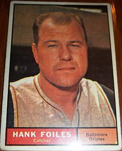 (1961 Hank Foiles #277 Baseball Card)