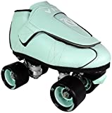 VNLA Mint Jam Skate Mens & Womens Skates - Roller Skates for Women & Men - Adjustable Roller Skate/Rollerskates - Outdoor & Indoor Adult Skate - Kid/Kids Skates (Mint Green)