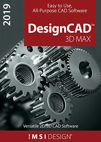 DesignCAD 2019 3D Max [PC Download] (Software Turbocad)