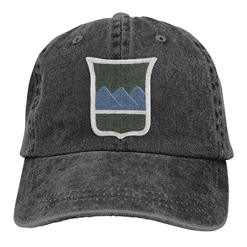 80TH Training Command 80TH Division Patch Embroidery Adjustable Washed Twill Baseball Cap Dad Hat Black