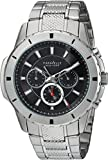 CARAVELLE NEW YORK Men's Quartz Stainless Steel Casual Watch, Color:Silver-Toned (Model: 43A137)