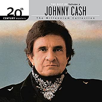 best of johnny cash vol 2 20th century masters the millennium collection by johnny cash on. Black Bedroom Furniture Sets. Home Design Ideas