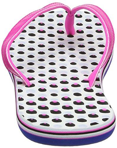 adidas Damen Eezay Dots Dusch-& Badeschuhe Pink (Shock Pink/collegiate Royal/aero Blue 0)
