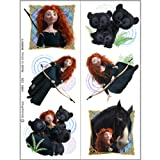 Disney Brave Tattoo Sheets (2) Party Accessory