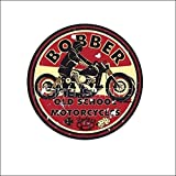 540 Bobber Old School Motorcycles AUTOCOLLANT / STICKER