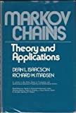 Markov Chains : Theory and Applications, Isaacson, 0471428620