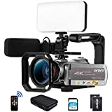 Ordro AZ50 4K 30fps 3840X2160 Camcorder Video Camera 1080P 60FPS