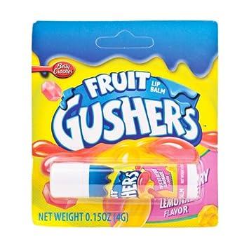 Fruit Gushers Twisted Berry Lemonade Lip Balm Dermisa Makeup Remover 25 Counts. Pack of 3
