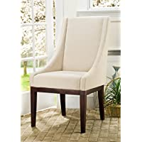 Safavieh Mercer Collection Mario Arm Chair, Cream