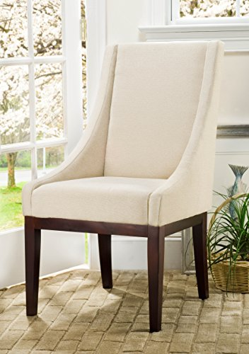 Safavieh Mercer Collection Mario Arm Chair, Cream -  MCR4500B