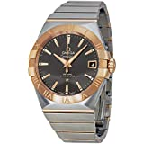 Omega Men's 'Constellation' Swiss Automatic Stainless Steel Dress Watch, Color:Two Tone (Model: 12320382106002)