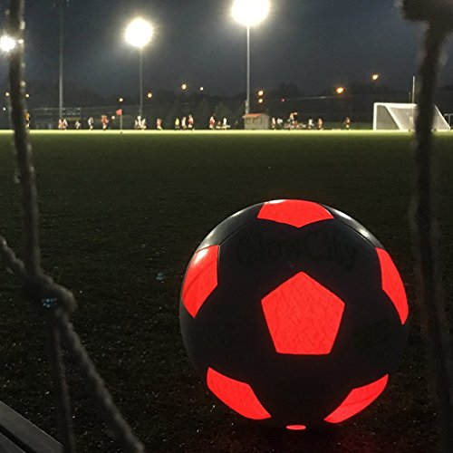 Soccer Ball Lamp Australia: Uses 2 Hi-Bright LED Lights
