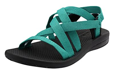 bae8fdbb1c73 ACE SHOCK Women s Flat Sporty Beach Sandal Water Shoes Casual Athletic  Sandals (5