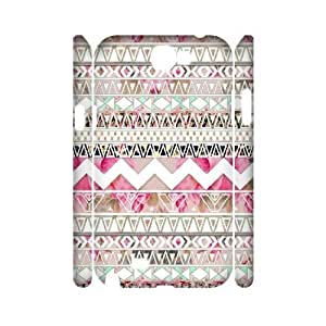 Aztec Tribal Pattern Unique Design 3D Cover Case for Samsung Galaxy Note 2 N7100,custom cover case ygtg537923