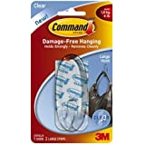 Command Hook, Large, Clear, 1-Hook (17093CLRES)