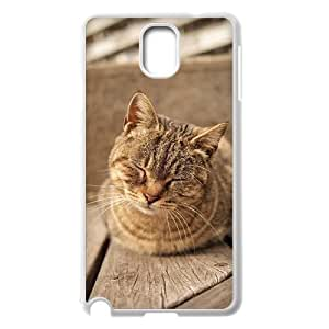 Beautiful Cute Cat Unique Design Cover Case with Hard Shell Protection for Samsung Galaxy Note 3 N9000 Case lxa#862582