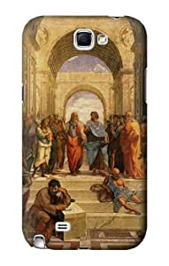 S1086 Raphael's School of Athens Case Cover For Samsung Galaxy Note 2
