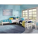 NE Kids Pulse Twin L Shaped Bed in White