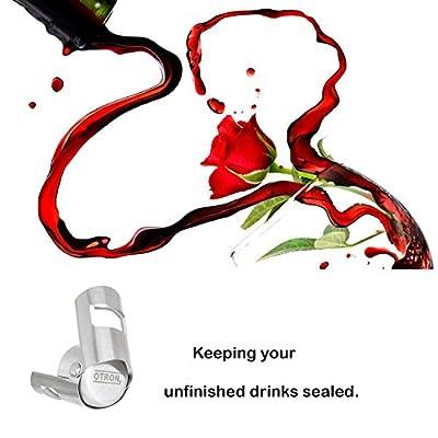 OTRON Champagne Stopper Sparkling Wine Bottle Stopper