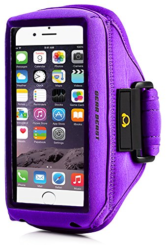 Gear Beast Case Compatible [Otterbox, Lifeproof, Other] Sport Gym Running Armband with...
