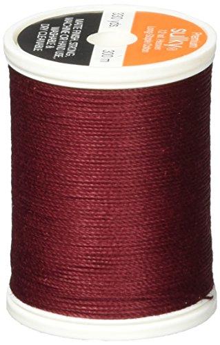 - Sulky Of America 12wt Cotton Thread, 330 yd, Merlot Wine