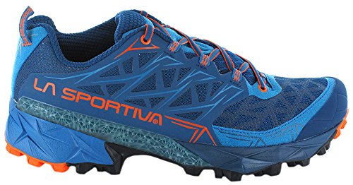 La Sportiva Mutant Trail-schoenen Voor Dames Trail - Ss18 Akyra Ocean / Flame Talla: 43.5