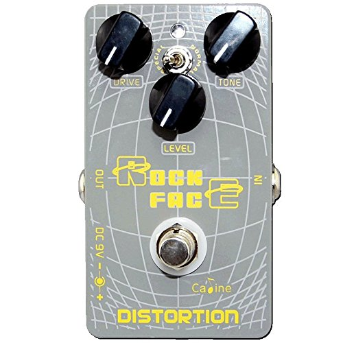 Caline USA, CP-21 Rock Face Distortion Guitar Effect Pedal (Best Distortion Pedal For Rock)