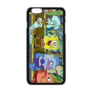 Funny Ponge Bob Squarepants Design Best Seller High Quality Phone Case For Iphone 6 Plaus